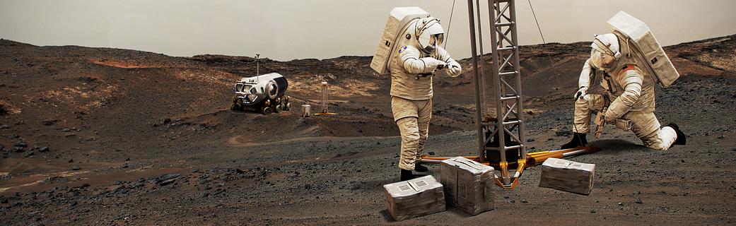 6 technologii, które pomogą wysłać człowieka na Marsa. Są naprawdę niezwykłe.