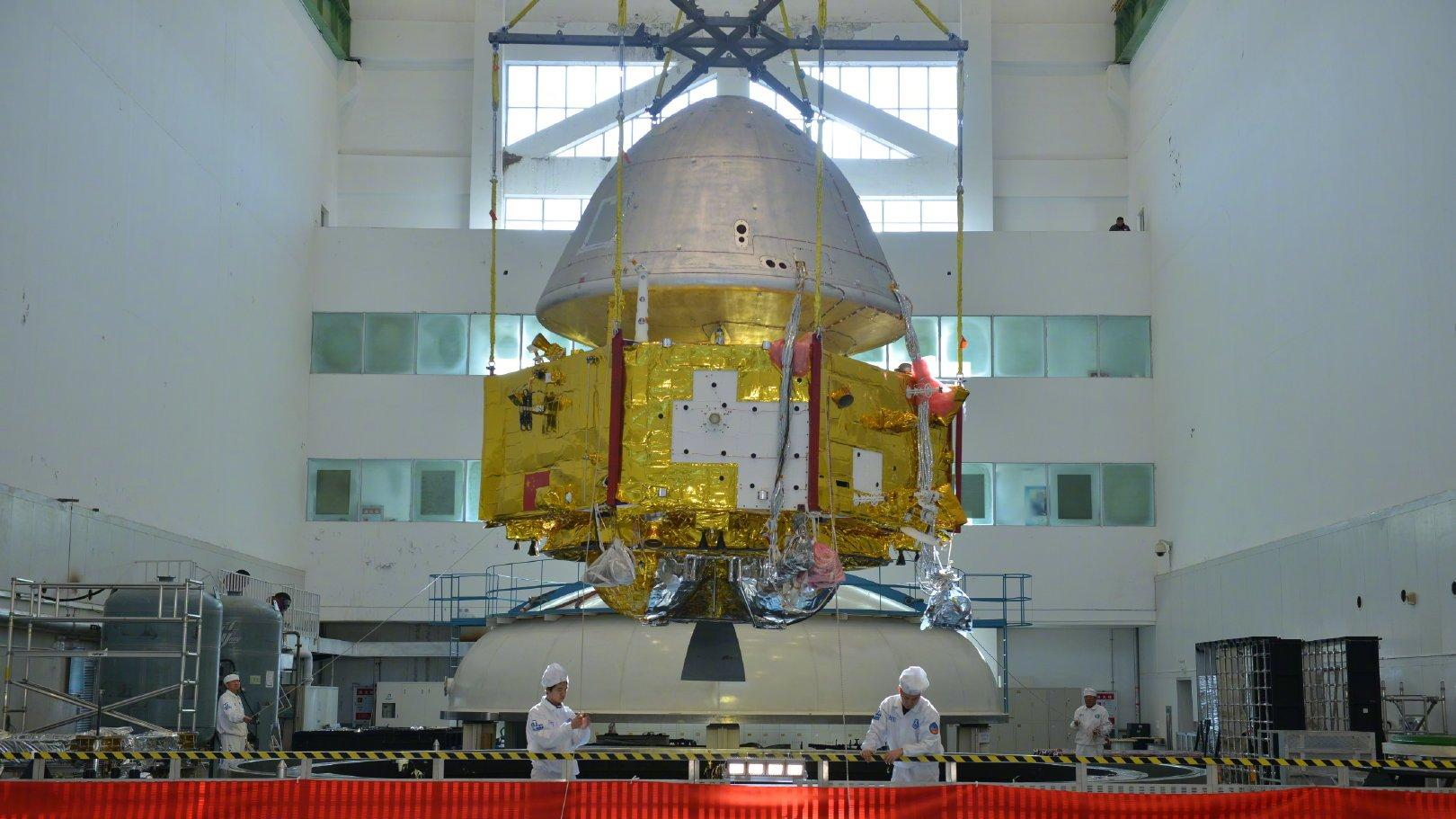 Pierwsza chińska misja wyruszyła na Marsa! Potrwa ona...