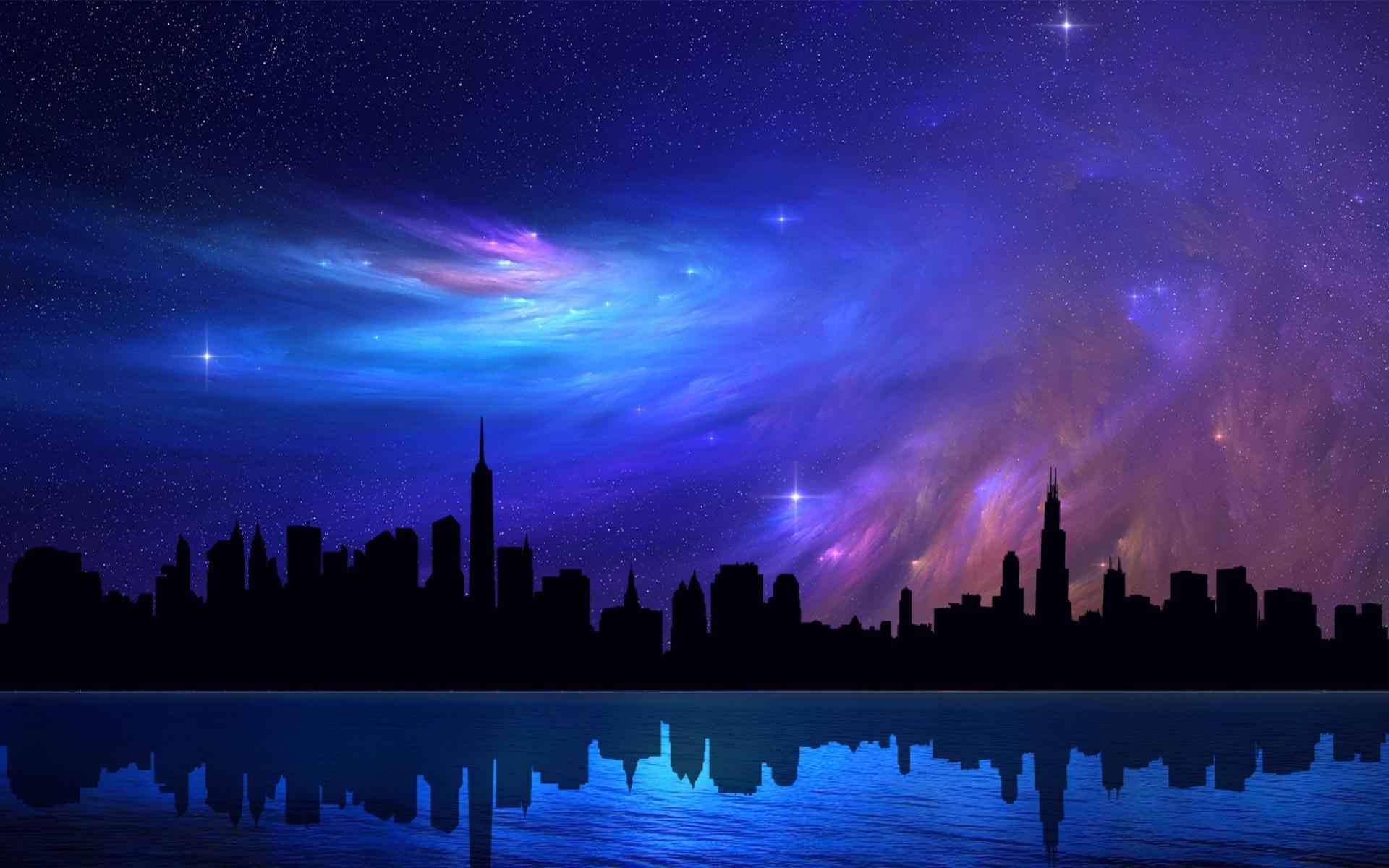 Dlaczego nocne niebo jest czarne?